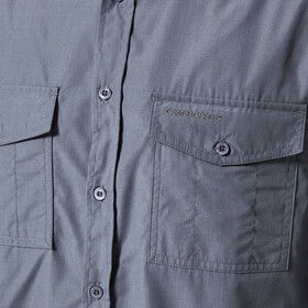 Craghoppers Kiwi Langarmhemd Herren ombre blue